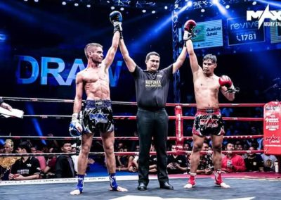 Michael Robin Long 16 July 2017 Max Muay Thai Pattaya2