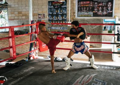 Muay Thai Beginner Training Sessions Young