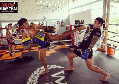 Bull Muay Thai Ring Training Session