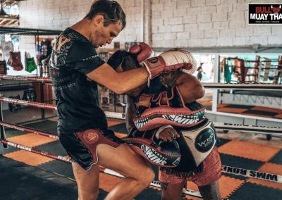 Bull Muay Thai Training On Ring 2